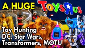 Toy Hunt at HUGE ToysRUs with Mega Jay Retro in Mississauga!
