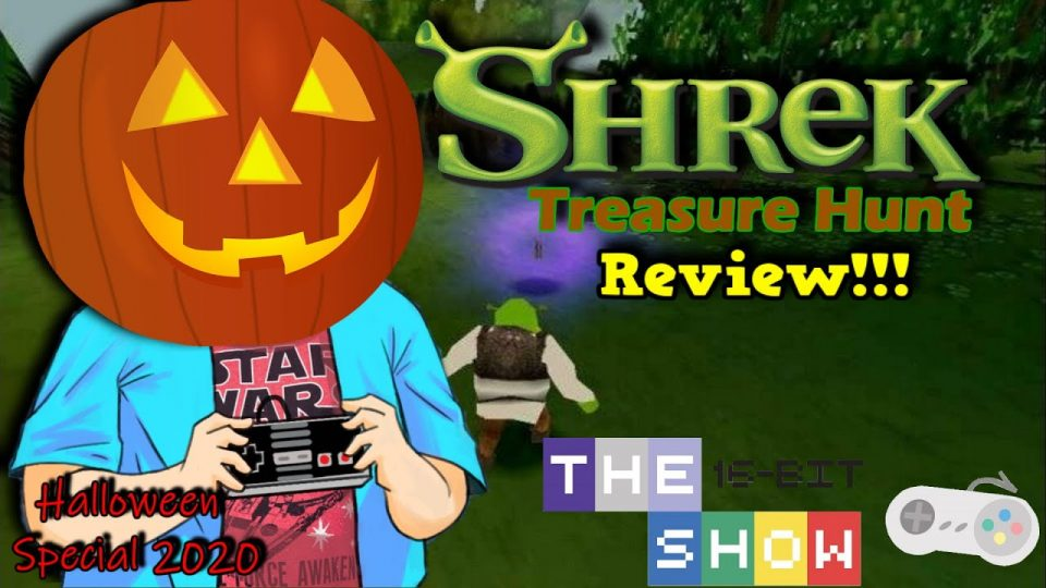 SHREK'S TREASURE HUNT (PS1) IS SO BAD...IT'S SCARY!  The16BitShow 2020 Halloween Special