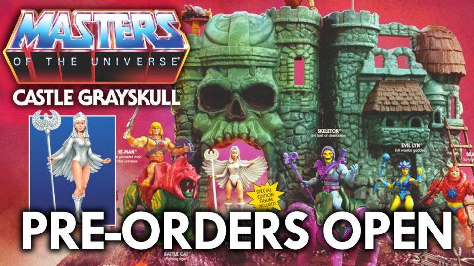 Castle Grayskull Masters of the Universe Origins Playset Walmart Pre-Order