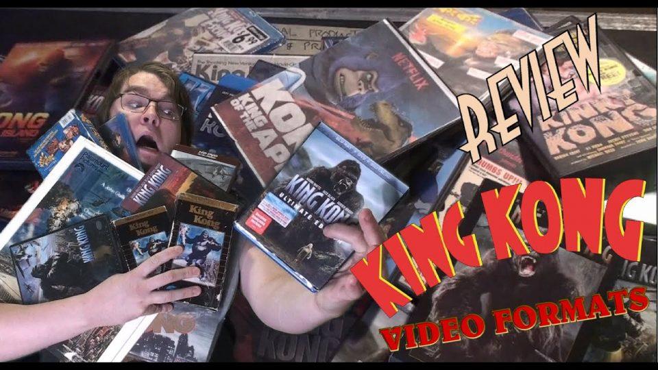 70. King Kong Video Formats (1933 - 2020) KING KONG REVIEWS