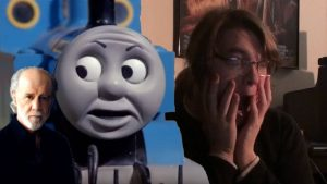 GEORGE CARLIN IS AT IT AGAIN! Thomas The Tank Engine Dub Reaction!