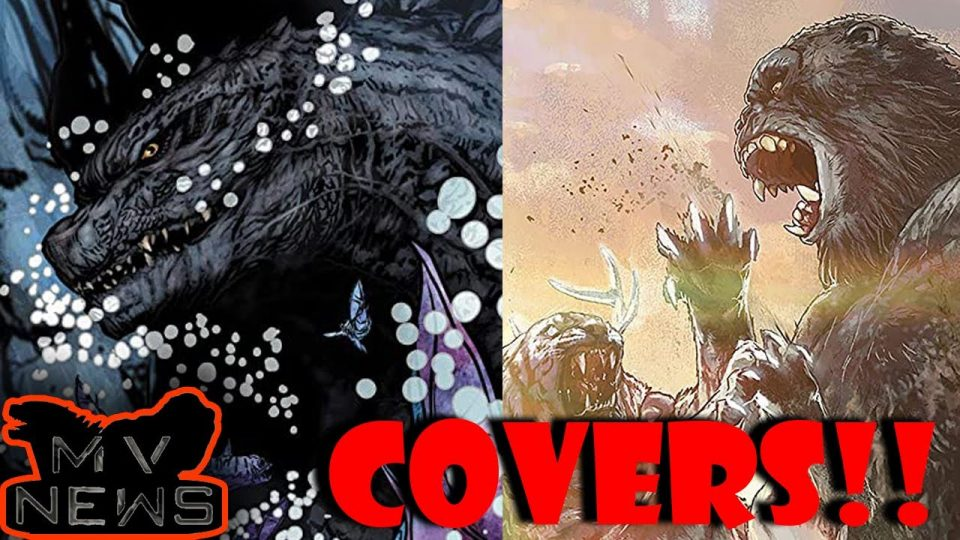 GvK Comic Covers and Release Date Revealed (Finally Some News) | Godzilla vs Kong