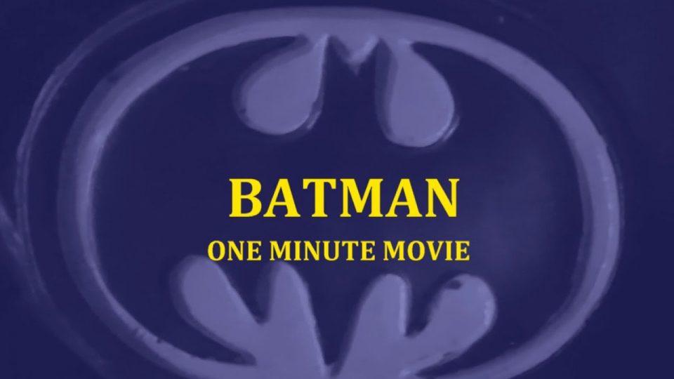 Batman - One Minute Movie (102.1 Edge Entry)