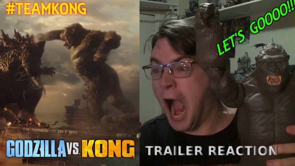 Godzilla VS Kong - TRAILER REACTION! LET'S GOOOOOOOOO!!!!!